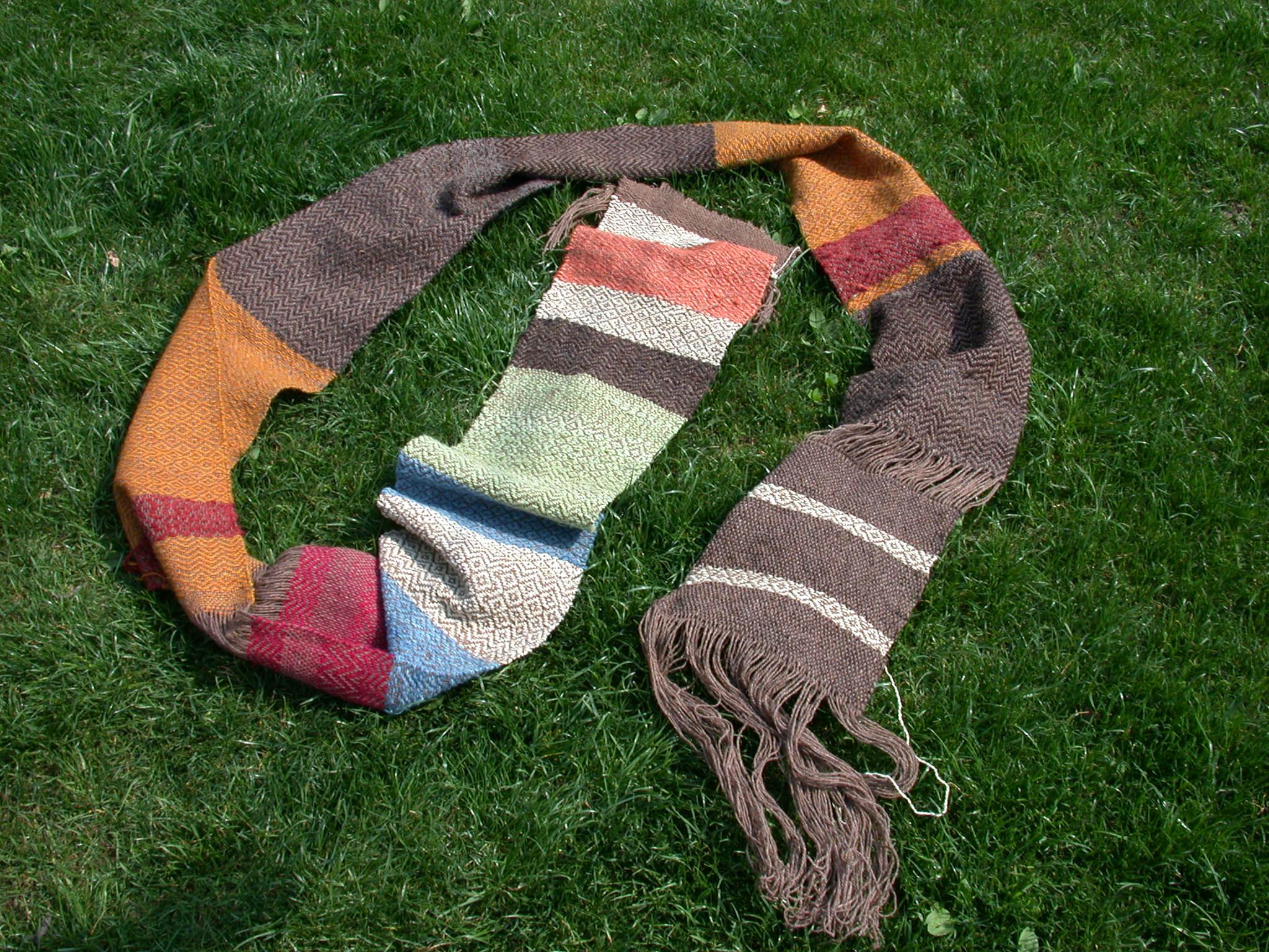 Testlauf mit Schal