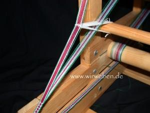 Weben mit Litzen